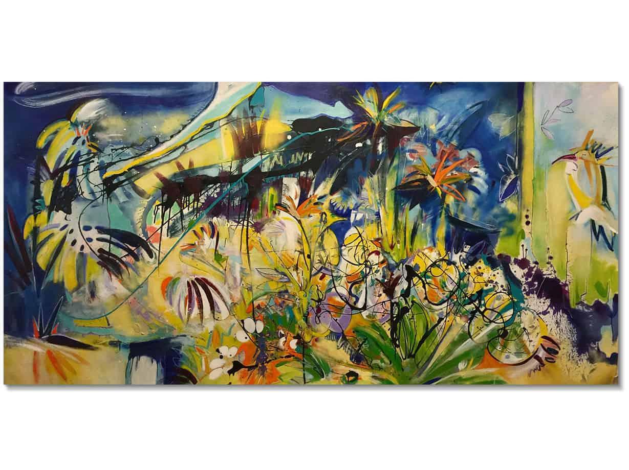 Bird of Paradise - 160x290cm