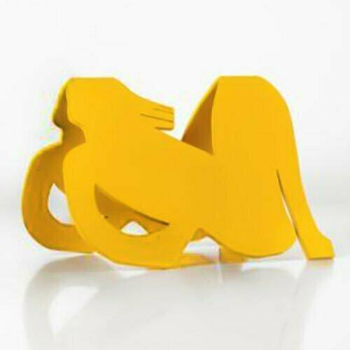 Casting-Response-12x16cm-POWDER-COATED-STEEL-stainless-steel-tabletop-Charles-blackman-australian-sculpture.jpg