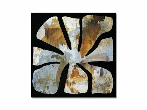 Fire Flower #23 - 60x60cm