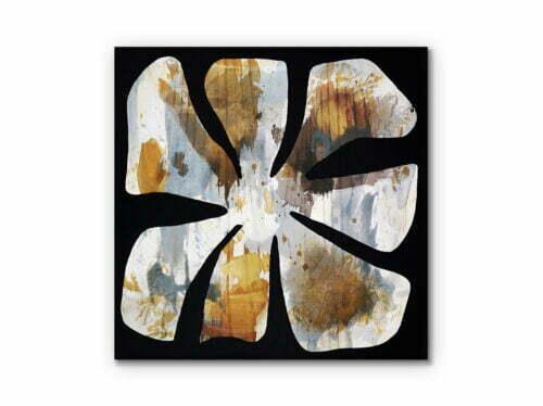 Fire Flower #24 - 60x60cm