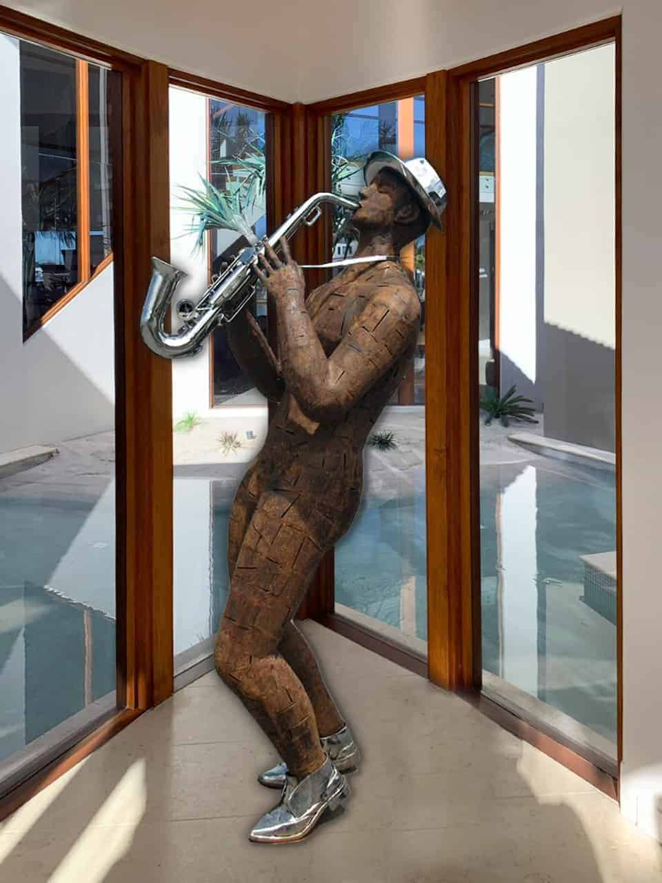 Saxy-and-you-know-it---190x60x60cm--CORTEN-&-STAINLESS-STEEL-[Stainless-steel,Outdoor,Landmark]--Nicole-Allen-Sculpture--Australian-ArtistSaxy-and-you-know-it---190x60x60cm--CORTEN-&-STAINLESS-STEEL-[Stainless-steel,Outdoor,Landmark]--Nicole-Allen-Sculpture--Australian-Artist