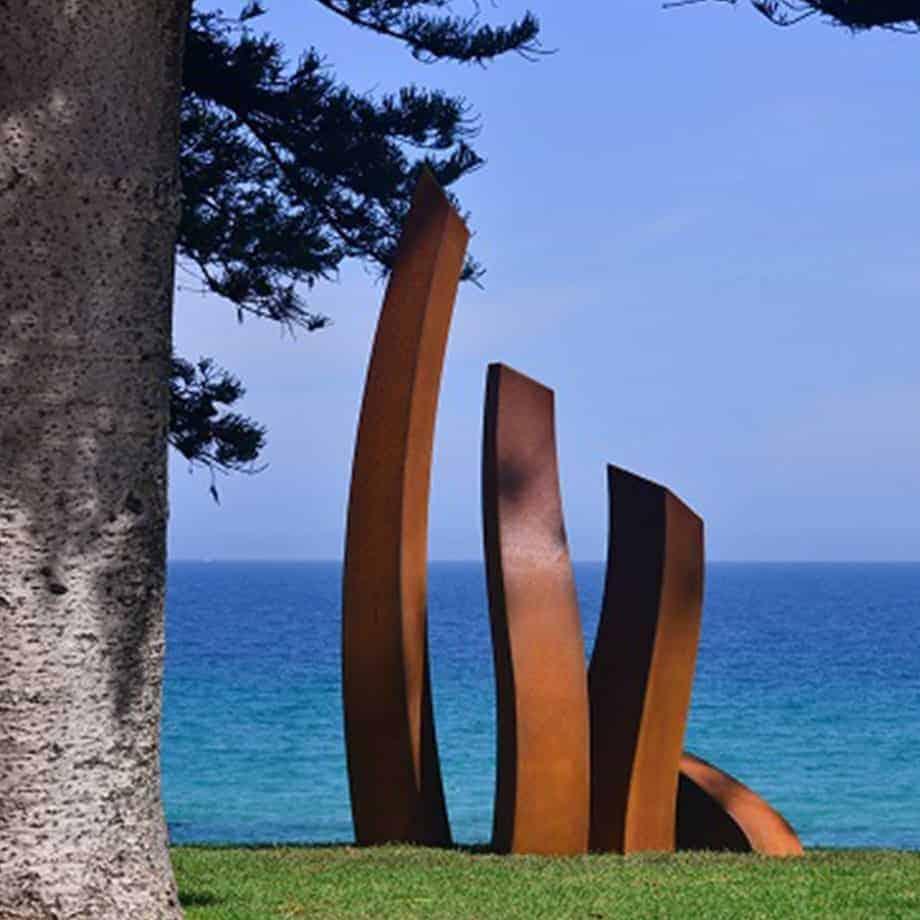The-Yearning--CORTEN-STEEL-[corten,outdoor,landmark]-Linda-bowden-large-australian-sculpture