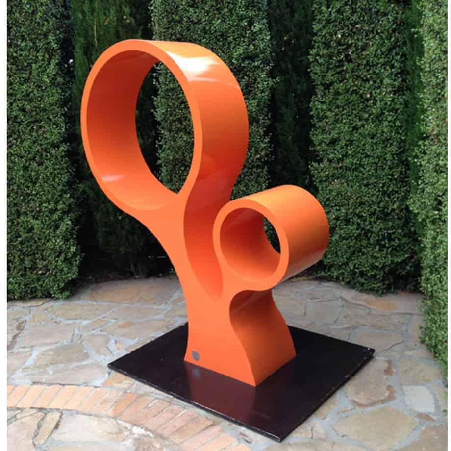 The-bubbles-garden-scultpture[outdoor,-stainless-steel,-free-standing]-Jason-Aslin-australian-sculpture