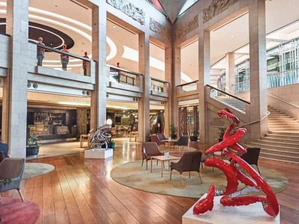 Red-Peel-Poem---150x90cm-STAINLESS-STEEL-&-BAKED-ENAMEL-[stainless-steel,-freestanding,-outdoor]-rae-bolotin-red-pop-art-sculpture-australian-art