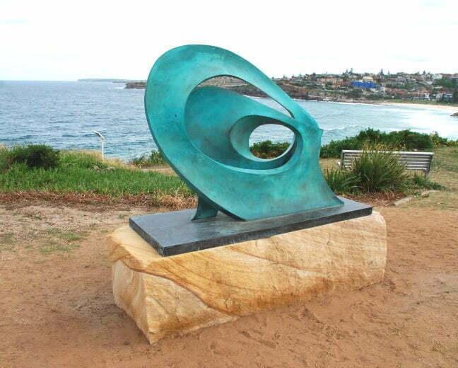 BKB Wave Bronze 96x136x36cm MR003