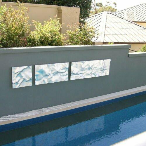 Bas-Relief-Outdoor--HAND-FABRICATED-2mm-ALUMINIUM-[outdoor,-wall-mounted]-tony-colangelo,outdoor-relief-pool-sculpture