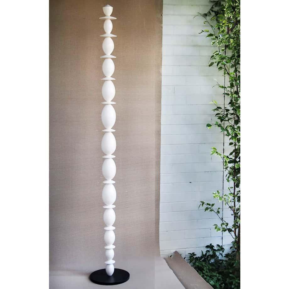 Divina-Alta---204x30cm-CERAMIC-TOTEM-[ceramic,free-standing,outdoor]-walter-auer--australian-sculpture