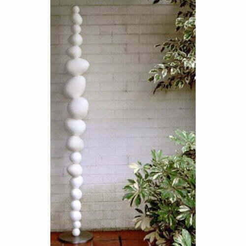 Eggs-on-the-side---180x30cm-CERAMIC-TOTEM-[ceramic,free-standing,outdoor]-walter-auer--australian-sculpture