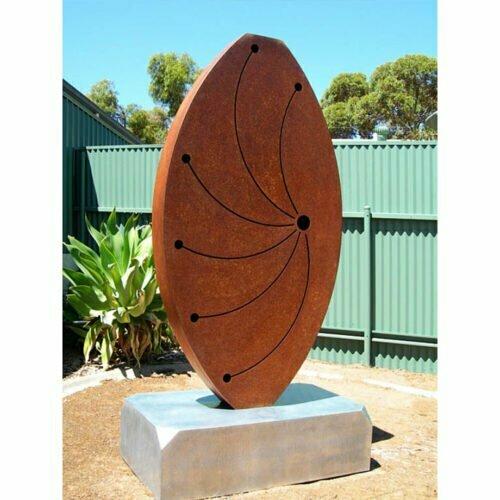Galaxy-220x110x45cm-CORTEN-STEEL-[outdoor]-jason-aslin-australian-garden-sculpture