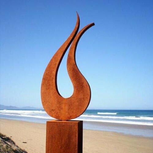 Harmony-220x60cm-limited-to-9-CORTEN-STEEL-[Corten,,outdoor]Andrew-Kasper-outdoor-garden-sculpture-australian-sculptor