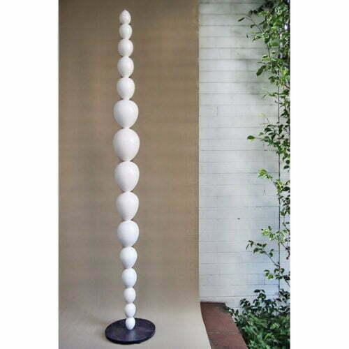 MaternaWhite---175x30cm-CERAMIC-TOTEM-[ceramic,free-standing,outdoor]-walter-auer--australian-sculpture
