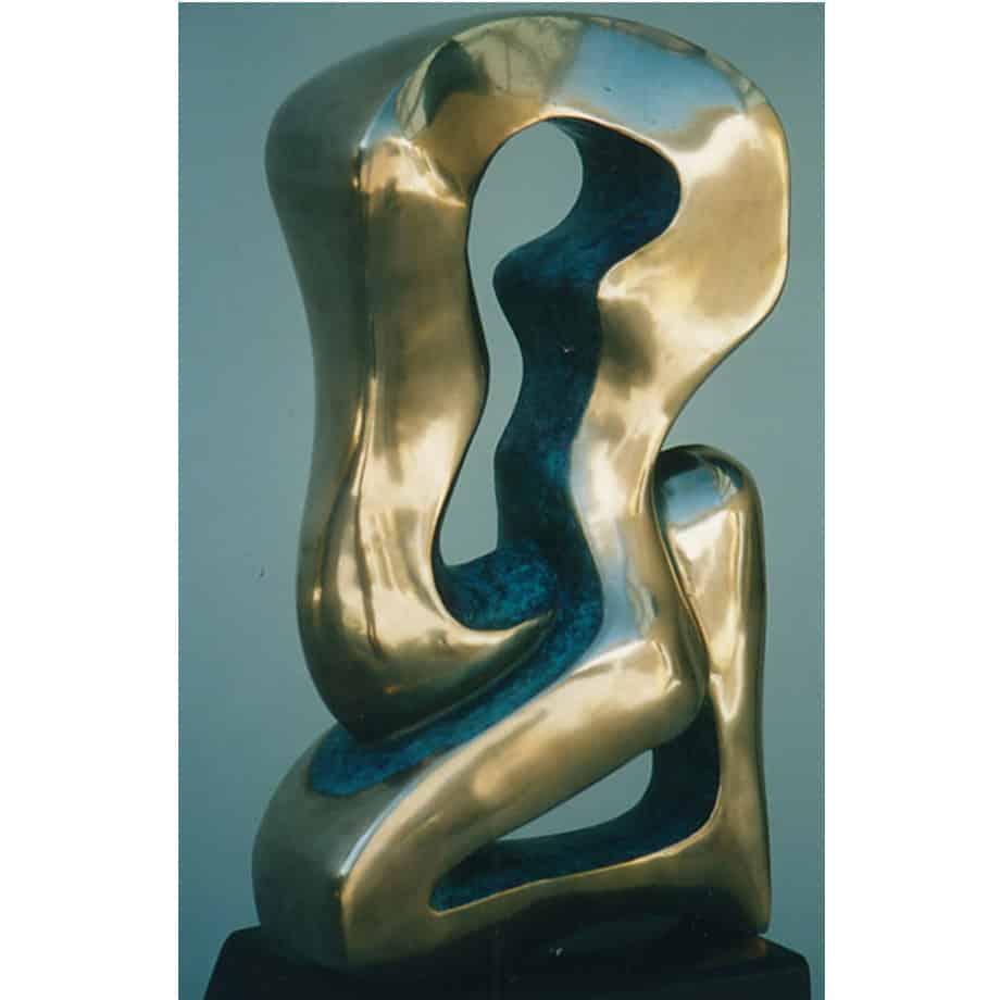 Moonlight-Sonata-42cm--BRONZE--[tabletop,-bronze,-figurative]-smagarinsky-female-dance-sculpture-australian-artist