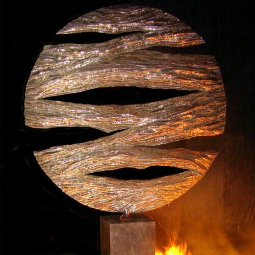 Mysterious-250x160cm--STAINLESS-STEEL-with-concrete-plinth-[free-standing,outdoor,Stainless-steel]-CHEN-australian--sculpture-large-sphere