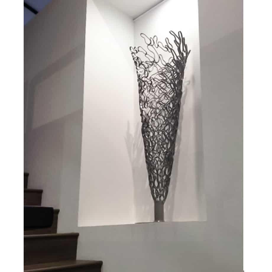 Outward-Flow-150cm-POWDER--COATED-STEEL-[outdoor,-free-standing]-Astra-Parker-tall-sculpture-australian-artist-outdoor-garden-art