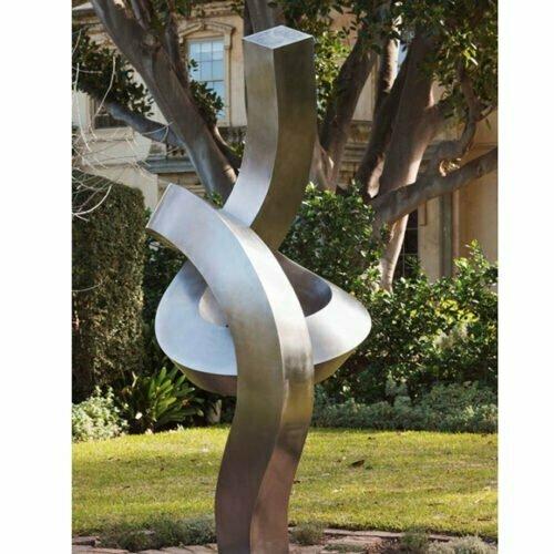 Pirouette-250cm-[outdoor,-landmark]-martin-george-australian-artist-garden-sculpture-twisted--contemporary-art