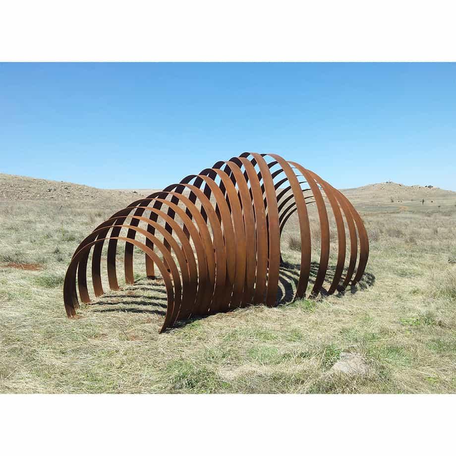 Rhythm-Underground5mx2m---CORTEN-STEEL-[Landmark]-Astra-Parker-extra-large-scale-sculpture-australian-artist-outdoor--art