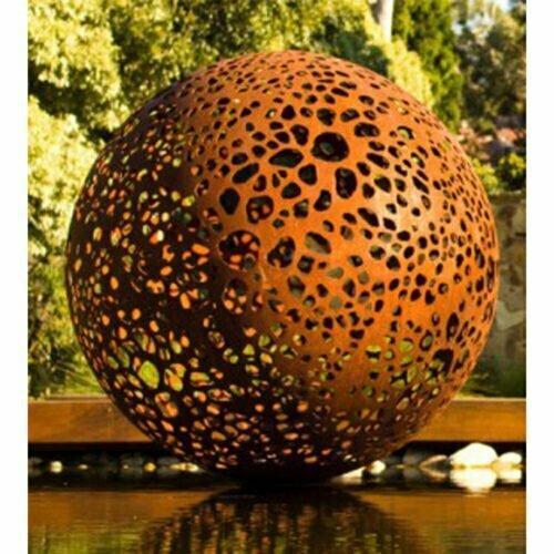 Sphere-120cm-CORTEN--[corten,outdoor]-vick--damien--sphere-sculpture-australian-large-scale-garden-sculpture