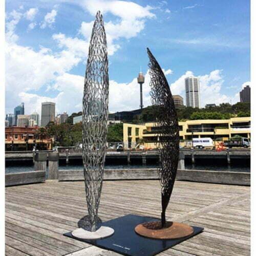 StillStanding-&-Standing-vessel-3m-MILD-STEEL-[outdoor,-free-standing]-Astra-Parker-tall-sculpture-australian-artist-outdoor-garden-art