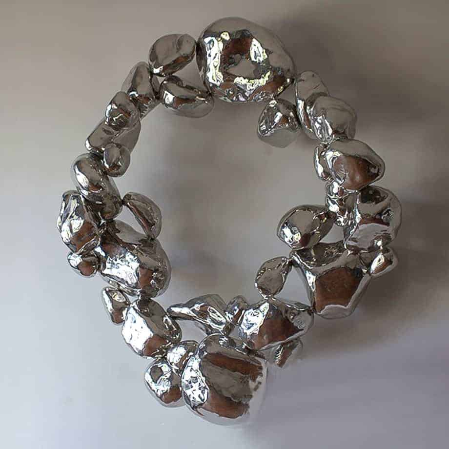 Stone-Ring-Wall-Mount120x120x40cm-STAINLESS-STEEL-[wall-mounted,stainless-steel]-CHEN-australian-sculpture-interior-natural-contemporary