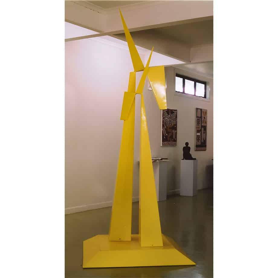 THUINDERBOLT-268x102cm-MILD-STEEL-EPOXY-PAINT[Outdoor,Landmark]-Laurindo-de-abreu-soto-australian-sculpture-yellow-african-abstract-bold