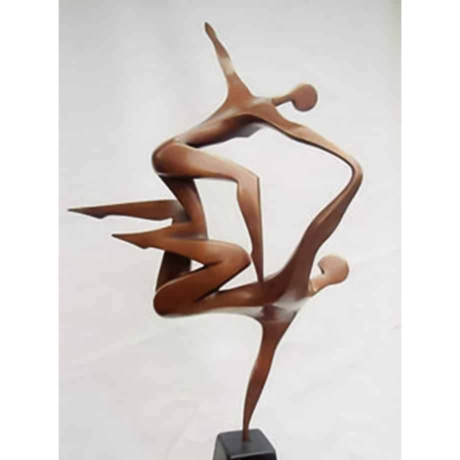 The-Song-Bronze-100x63cm--BRONZE-[tabletop,-bronze,-figurative]-smagarinsky-female-dance-sculpture-australian-artist