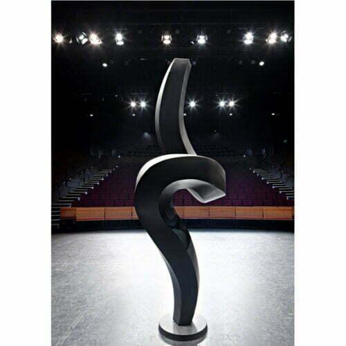 Tippy-Toes-320x90cm--[outdoor,-landmark]-martin-george-australian-artist-garden-sculpture-twisted-black-contemporary-sculpture