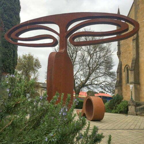 Transfigure-254x240cm-CORTEN-[outdoor,-landmark,corten]Greg-John-Australian-garden-sculpture-large-abstract-art