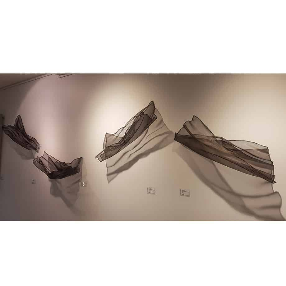 Untitled-Mesh--Small--FORMED-STAINLESS-STEEL-MESH-[stainless-steel,wall-hanging]-MIKE-BAIRD-australian-fabric-flowing-sculpture