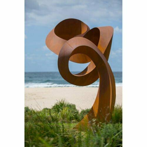 change-ahead-5.5m--CORTEN[landmark,Corten]-johannes-pannekoek-australian-large-scale-abstract-curved-sculpture