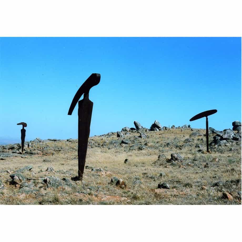 excavator-120x65cm----CORTEN-[outdoor,corten]Greg-John--Australian-garden-sculpture-abstract-art