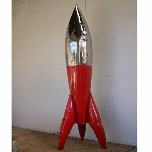 loving embrace --250cm-STAINLESS-STEEL-INDUSTRIAL-COATING-[stainless-steel,-free-standing,outdoor]david-mcCracken-rocket-sculpture-australian-artist-pop-art