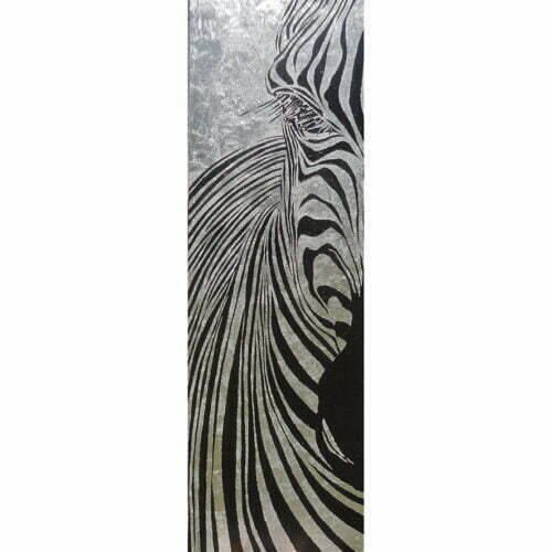painting zebra wildlife