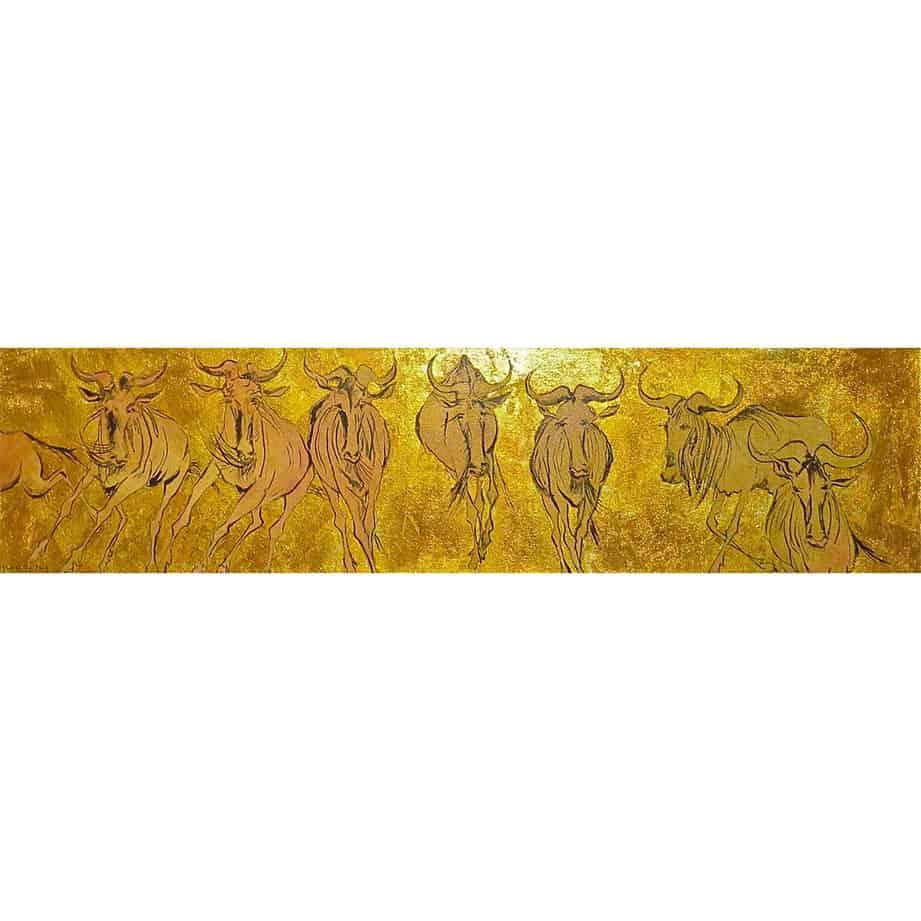 wildlife figurative landscape painting