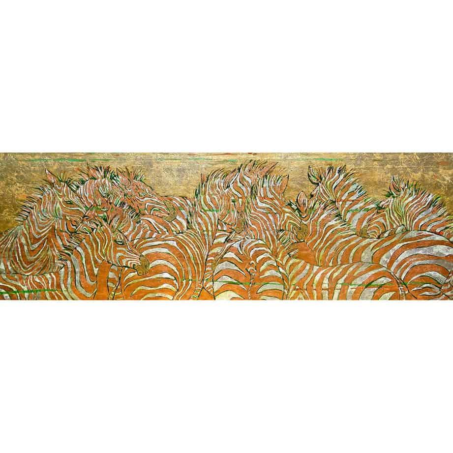 zebra wildlife horizontal landscape