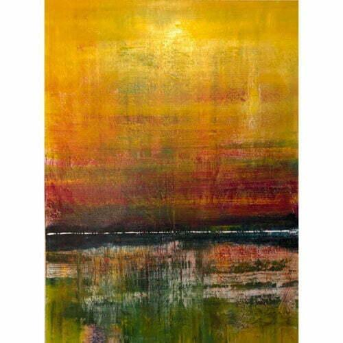 australian abstract landscape tropical fiji