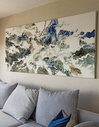 Original artwork large scale canvas painting for sale in sydney