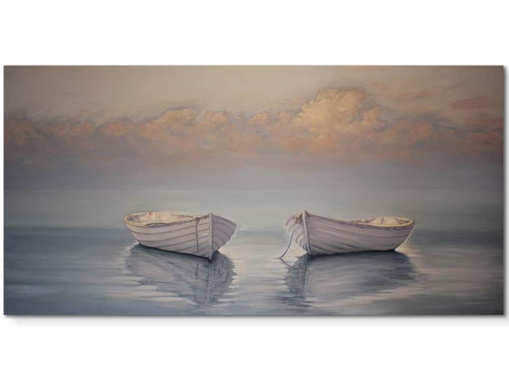 Floating-in-a-sea-of-blue-102x203cm---original-canvas-artwork-australian-artist-marshall-williams
