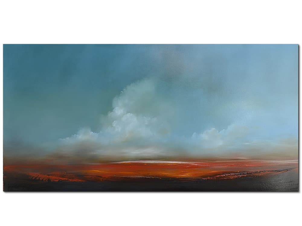 jankovic Afterglow canvas artwork Oil on linen