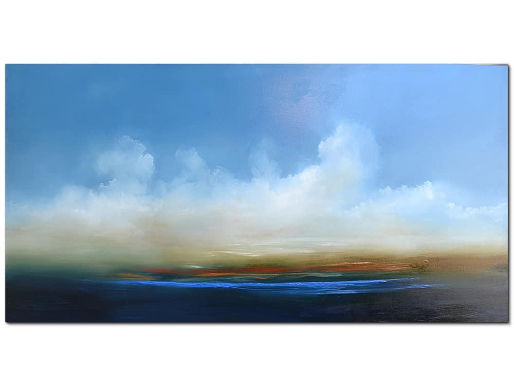 jankovic at twilight canvas artwork Oil on linen