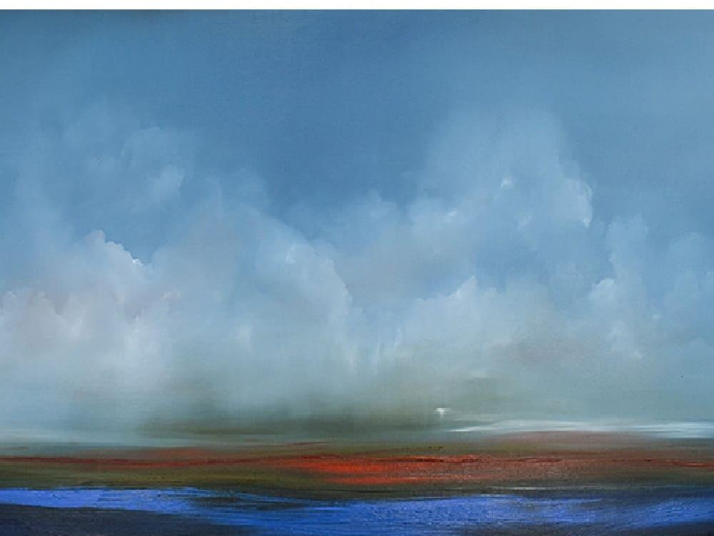jankovic break of light canvas artwork Oil on linen