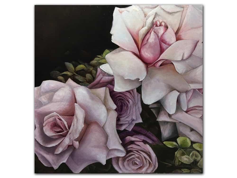 Rose-II_Masako_Oil-on-Canvas_92x92cm