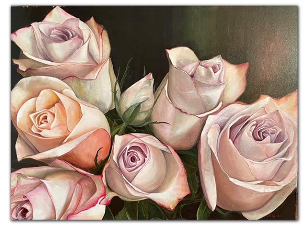 Rose-I_Masako_Oil-on-Canvas_122x92cm