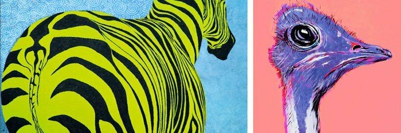 alexandra Spyratos- African ARTIST- ORIGINAL ARTWORKS AND PAINTINGS